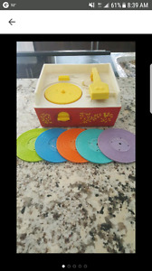 Vintage 1971 Fisher Price Record Playet