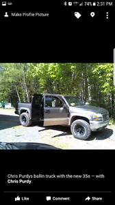 2001 Sierra 1500 Limited slip rear and front diffs