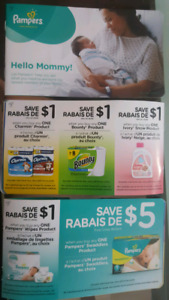 New baby coupon book
