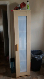 Ikea curio cabinet for sale