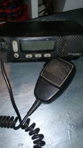 Motorola Two way radio with bracket and antenna