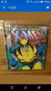 X-Men Pop-up, hard cover comic book