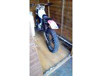 Honda 125cc. Not cr,ktm,kx,pit bike, quad
