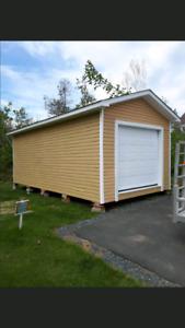 12x24 remise ou garage (livré)