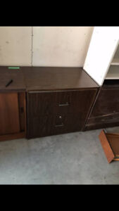 2 Drawer Lateral Wooden Filing Cabinet in great condition!