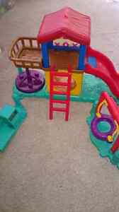 Little people playground with sound