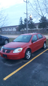 2006 Red Pontiac Pursuit Works great need gone