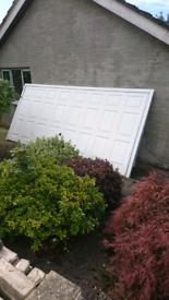 Remote control Hormann double garage door (perfect)