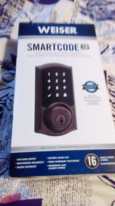 Keyless entry deadbolt