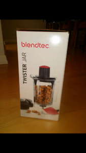 BNIB blendtec twister jar.