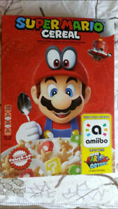 Nintendo Cereal w/Amiibo, Trade for Amiibo