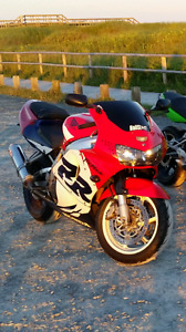 1999 mint cbr 900 rr new mvi full tune up before storage in wint