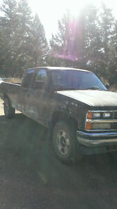 1989 Chevy 1500 4x4 ext cab long box