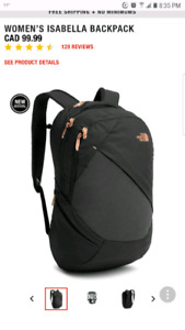 Brand new The North face •••  Women's Isabella 21L Day Pack