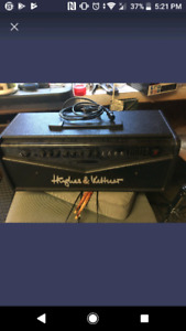 Hughes and kettner, head trade for acoustic