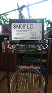 SHURE Vocal Microphone, 20ft Chord & Stand