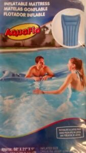 Aquaflo Inflatable Swimming Pool Air Mattress
