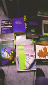 Durham College Law/Paralegal Books. Cheap.