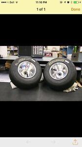 Go kart wheels wanted.