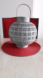 Lanterne décorative avec bougie
