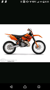 Wanted KTM 300 xcw stock springs