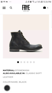 WANTED FRYE MENS BOOTS