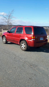 2006 ford escape v6 all wheel drive fully loaded