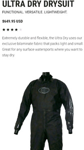 Drysuit BARE for watersports - new
