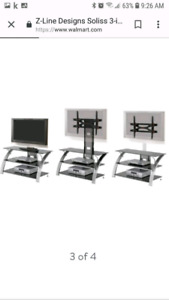 3 in 1 tv stand $100