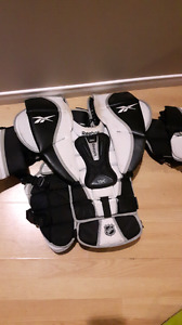Reebok 11k goalie chest protector.
