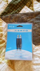 Dynex - 6ft - AUX cord- unopened