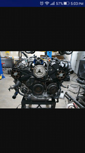 1999-2004 Audi 2.7T Twin Turbo Engine, Transmission, wiring harn