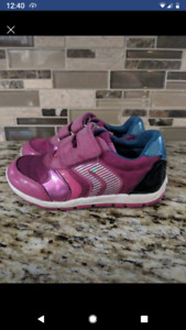 Geox  shoes size 9 toddler- OBO