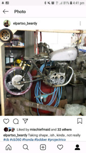 1974 cb360 cafe racer project