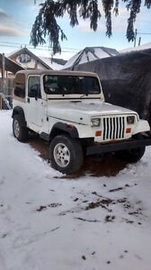 Parting out 2 Jeep YJ's 87 and 91