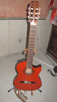 HOHNER ELECTRIC ACCOUSTIC GUITAR