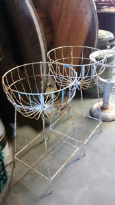 Antique plant stands