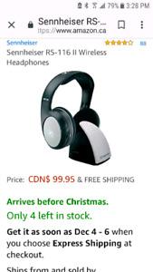 Sennheiser  over the ear headphones