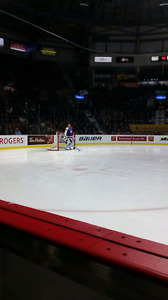 4 Windsor Spitfire Tix on the glass - Feb 23