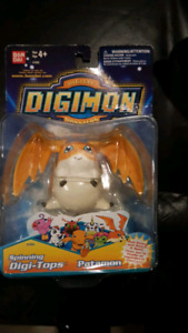 New 1997 Digimon Spinning Top