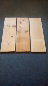 """3 softwood boards 3' X 11"""" X 3/4"""""""