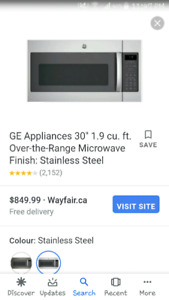 KENMORE ELITE MICROWAVE/CONVECTION COMBO
