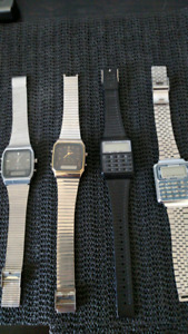 Vintage digital watches