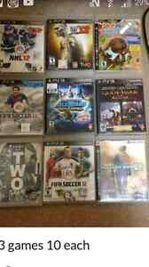Ps3 games $10 each firm