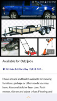 Truck available for odd jobs
