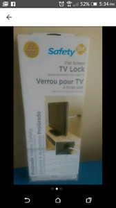 Safety first flat screen tv lock for kids safety