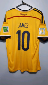 James wc 2014 Columbia jersey!