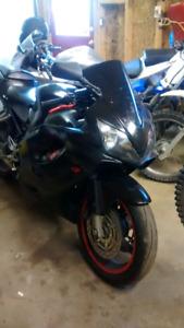 Cbr 600 f4i Trade for dirt bike