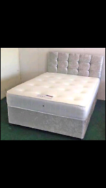 Brand new Divan beds with headboard and mattress 💥Free delivery!!