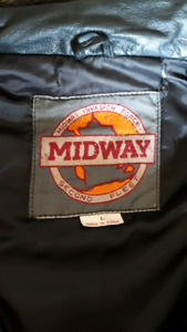 Midway leather bomber jacket (still available 9/13/2018)